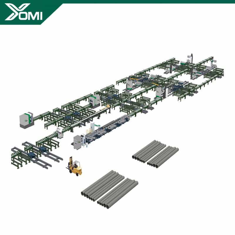 Piping Spool Prefabrication Production Line